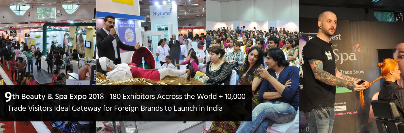 Beauty Trade Show in India