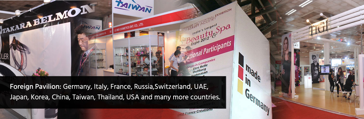 Professional Beauty Trade Show And Expo In India 2016